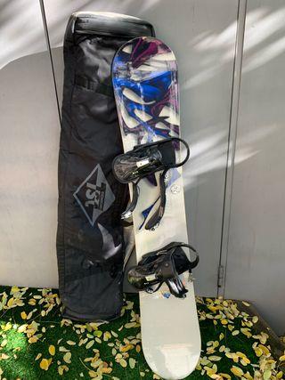 Burton snow board 163