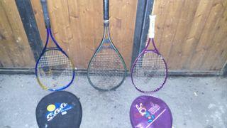 lote 3 raquetas de tenis