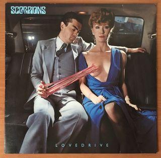 "LP VINILO SCORPIONS ""LOVEDRIVE"""