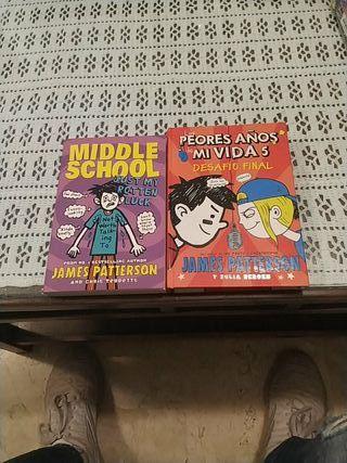 """Libros """"los peores años de mi vida"""""""