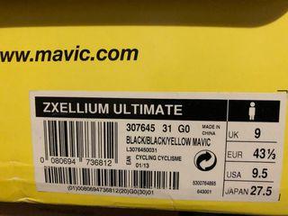 Zapatillas carretera Mavic zxellium 43 1/3
