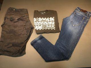 ANTONY MORATO pantalon & GSTAR camiseta - ENVIO