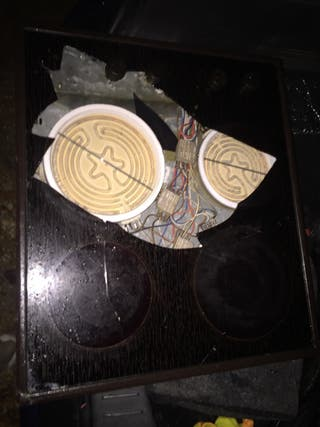 Vitro cerámica ulgor VF6140 M PIEZAS