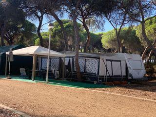 Vendo caravana instalada en isla Cristina