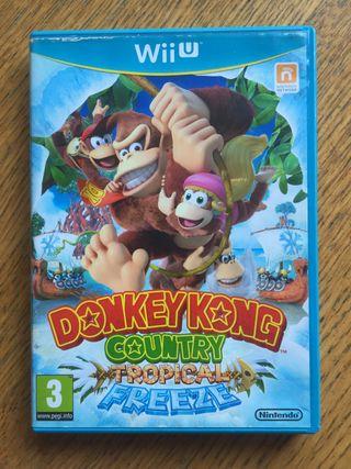 Donkey Kong country tropical freeze wiiu / Wii U