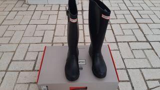 botas de agua mujer hunter numero 38 nuevas