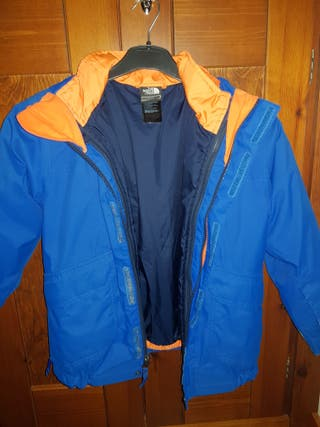 chaqueta de invierno The north face 7- 8 años