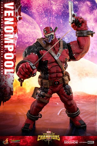 Venompool Figura 1/6 Marvel Hot Toys