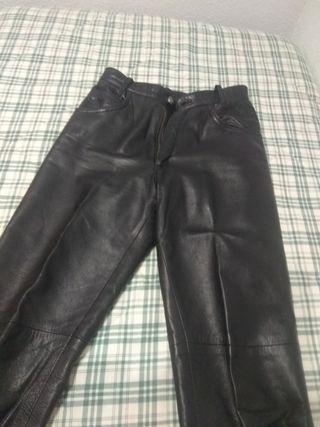 pantalon piel años 70