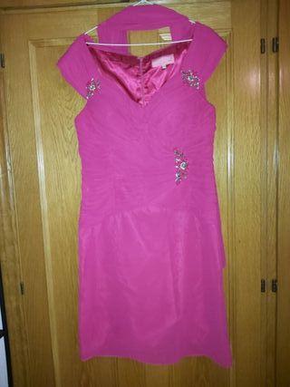 Vestido corto de fiesta talla 46