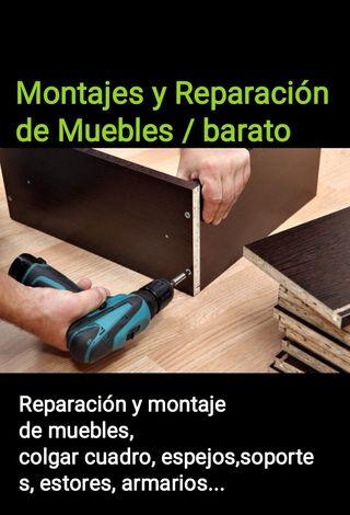 Montaje y Desmontaje y reparación de muebles