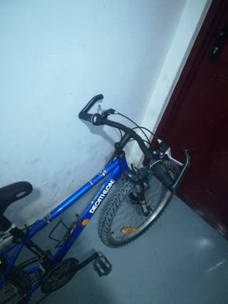 bicicleta decathlon 24''