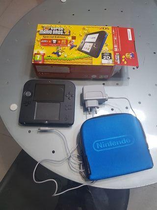 Nintendo 2DS edicion super mario bros 2