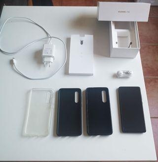 Huawei p30 negro, 128 G, Dual SIM