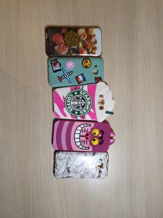 Set de 5 fundas Samsung Galaxy J5 2015
