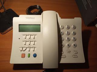 teléfono fijo DOMO Mensajes.