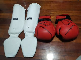 kit de Kick boxing marca domyos