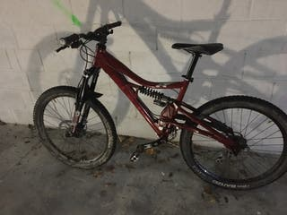 Bicicleta de montaña doble