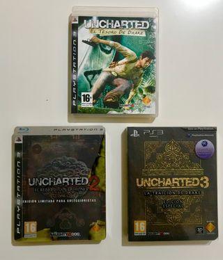 Trilogía Uncharted - Ps3