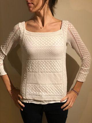 Camiseta blanca Massimo Dutty