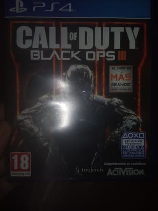 Call of duty Black OPS 3, ps4