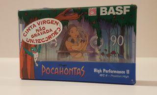 Cassette virgen BASF 90 edición POCAHONTAS