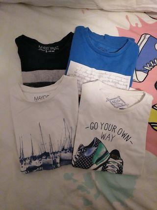 lote camisetas mayoral talla 5