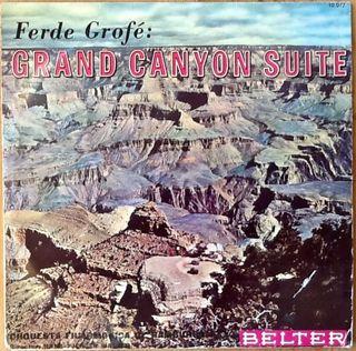 "FERDE GROFE ""GRAND CANYON SUITE"" LP 10"""
