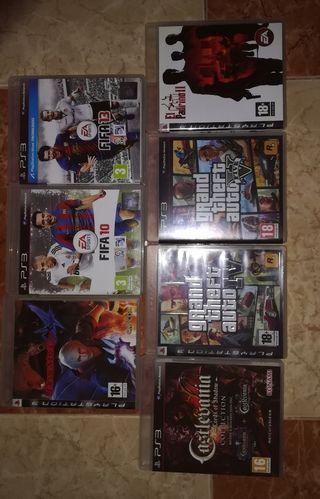 Juegos PlayStation station 3 y wii
