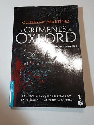 """Libro """"Los Crímenes de Oxford"""""""