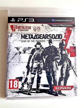 Metal Gear 4 - Ps3