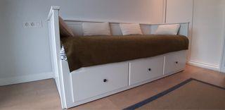 Diván, cama doble, sofá IKEA MODELO HEMNES
