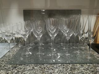copas cristal Bohemia