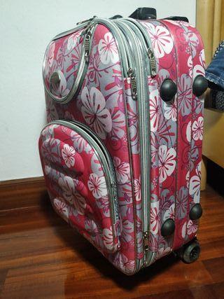 maleta de flores tamaño cabina