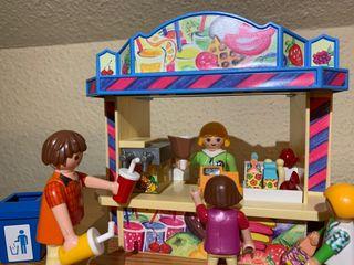 puesto de chucherías Playmobil 5555