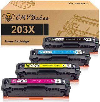 Toner HP 203X CF540X 203A CF540A para HP Color