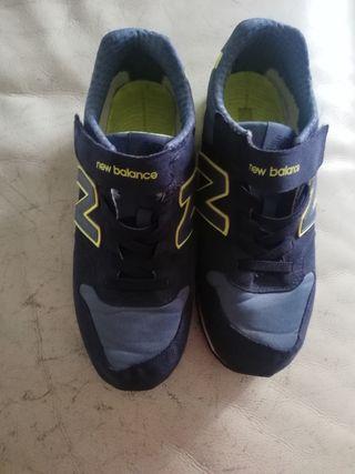 zapatillas niño new balance 39