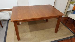 Mesa de comedor ikea marrón