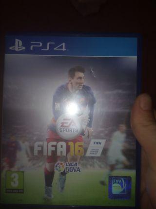FIFA 16, es de futbol, ps4