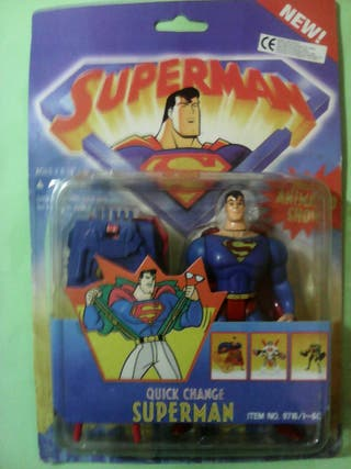 Capture net superman KENNER the animated show