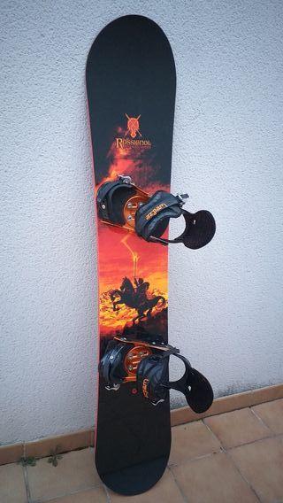 Tabla Snowboard +fijaciones +funda