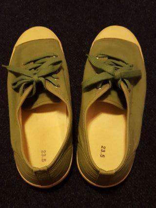 MUJI walking shoes