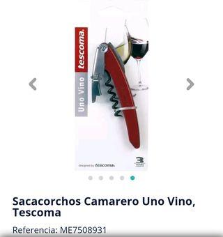 Abridor vino tescoma