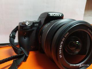 cámara Sony slt-A37