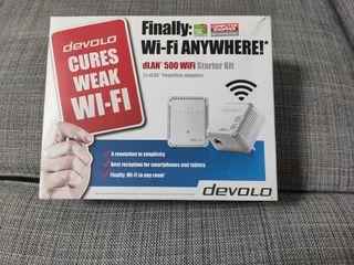 Extensor de Wi-Fi vía red eléctrica (PLC)