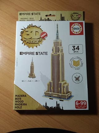 Puzzle 3D empire state