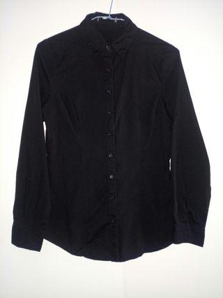 3 camisas negras uniforme mujer