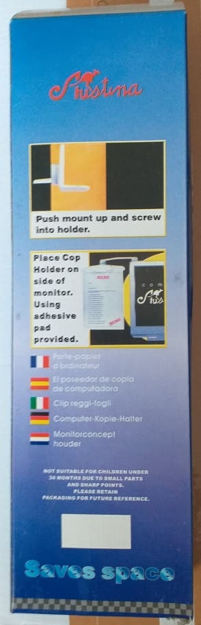 Soporte para folio o carpeta para PC Copy Holder