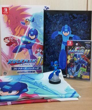 Megaman Rockman 11 amiibo edition