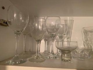 Conjunto de copas en cristal